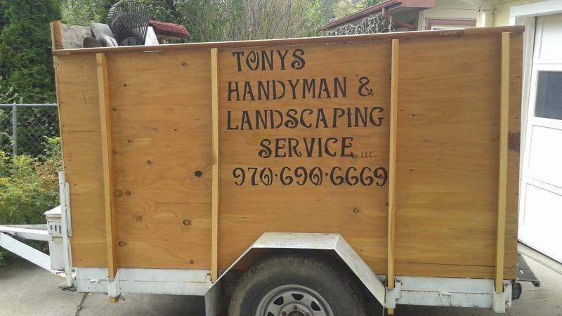 Tony can haul your home or yard waste